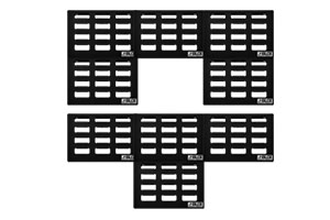 Stompblox in different configurations