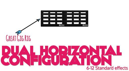 Stomblox Configuration Option Image - Dual Horizontal